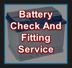 Battery Check And Fitting Service